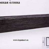 Декоративная балка Уникс М12 темная олива 2м