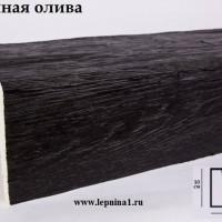 Декоративная балка Уникс М16 темная олива 2м