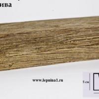 Декоративная балка Уникс СС1 олива 2м
