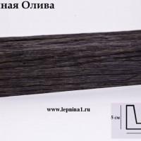 Декоративная балка Уникс СС1 темная олива 2м