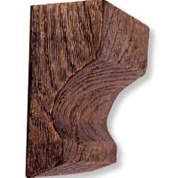Декоративная балка Уникс СС2 темный дуб 2м
