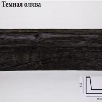 Декоративная балка 2 метра Уникс СС2 темная олива