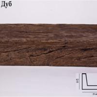 Декоративная балка 2 метра Уникс СС3 дуб