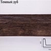 Декоративная балка 2 метра Уникс СС3 темный дуб