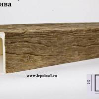 Декоративная балка Уникс СС3 олива 2м