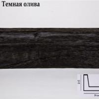 Декоративная балка 2 метра Уникс СС3 темная олива