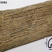 Декоративная балка Уникс Р1 олива 2м