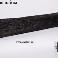 Декоративная балка Уникс Р1 темная олива 2м