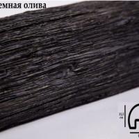 Декоративная балка Уникс Р2 темная олива 2м